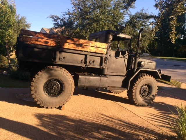 1968 Jeep M35a2 Bobbed Deuce Military Truck Monster For Sale