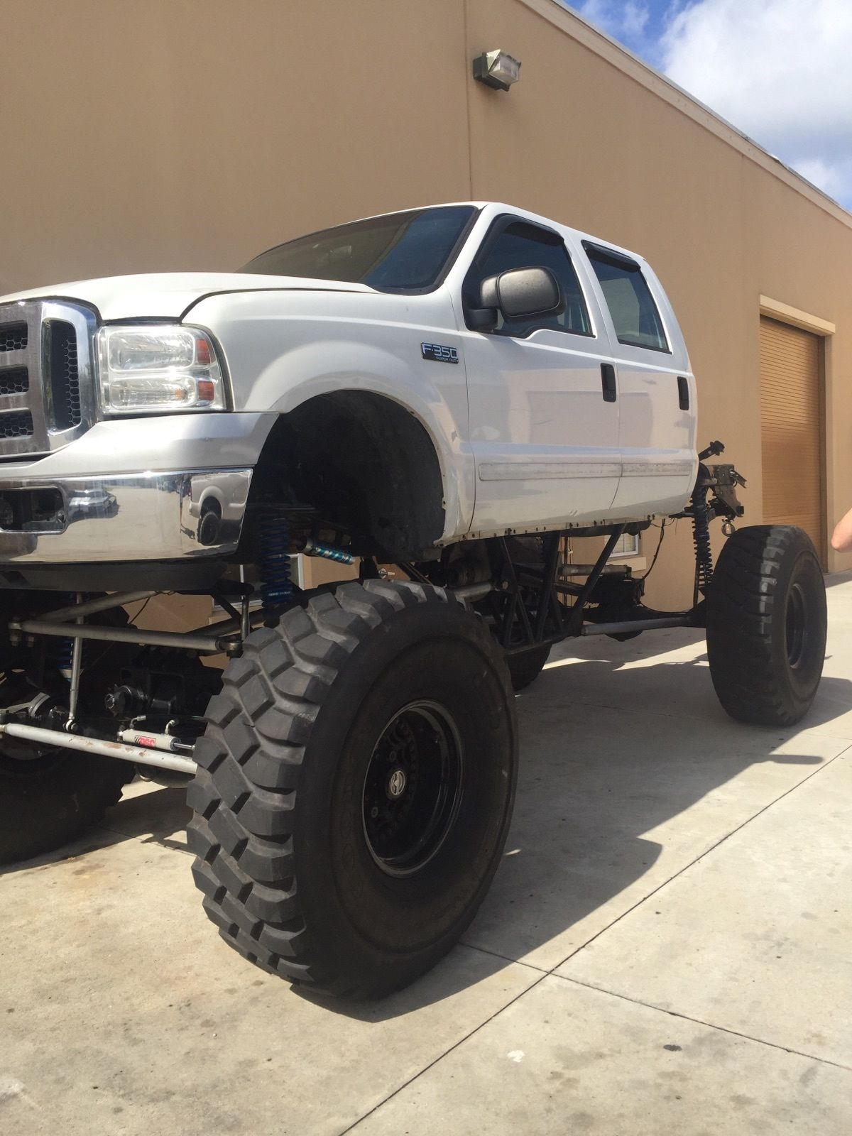Ford F Lariat Monster Mud Truck For Sale on Custom Lifted Ford F 250