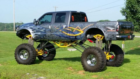 2002 Ford F-350 Custom Monster Show Truck for sale