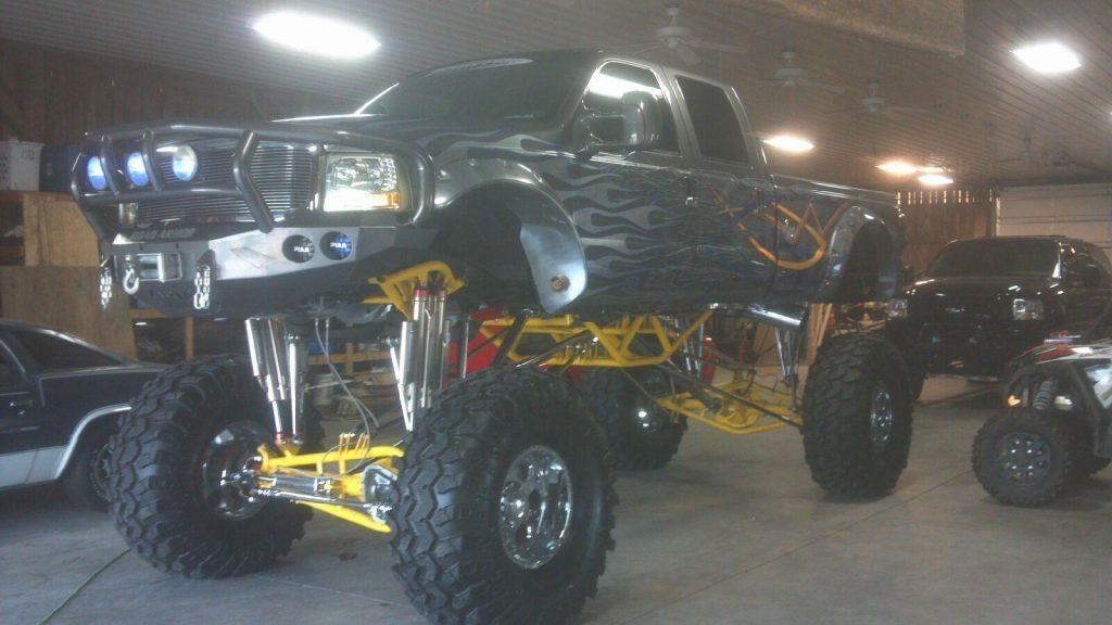 2002 Ford F-350 Custom Monster Show Truck