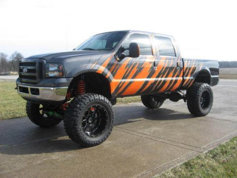 Bad ass 2005 Ford F-250 XLT Lariat Monster with Cummins Diesel Conversion for sale