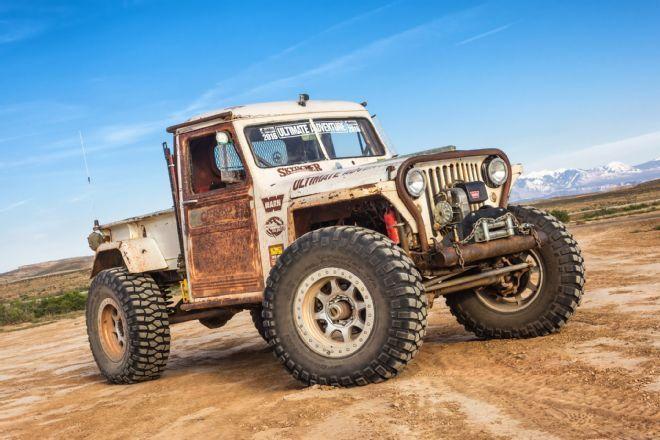 1949 Willys Pickup Rock Crawler