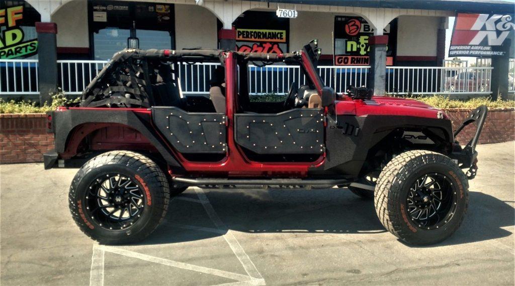 Custom built 2013 Jeep Wrangler Unlimited Rubicon