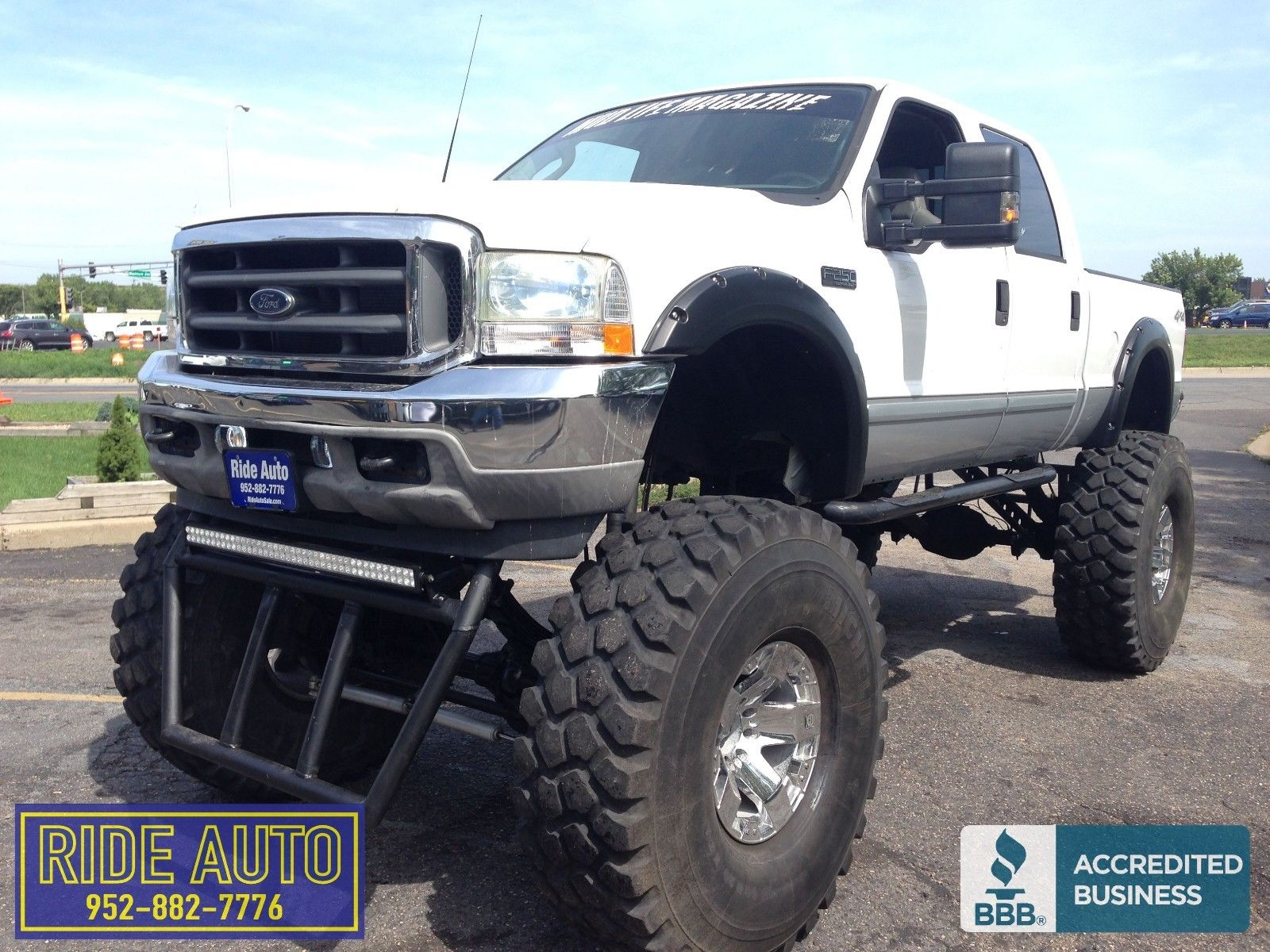 huge 2003 ford f 250 lariat monster truck for sale. Black Bedroom Furniture Sets. Home Design Ideas