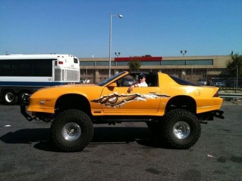 One of a kind 1987 Chevrolet Camaro IROC-Z Monster Truck for sale