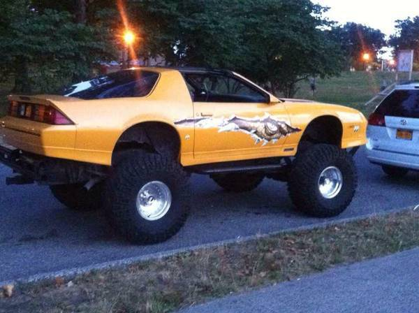 One of a kind 1987 Chevrolet Camaro IROC-Z Monster Truck