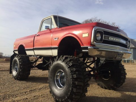 1969 Chevrolet C10 Custum build monster truck for sale