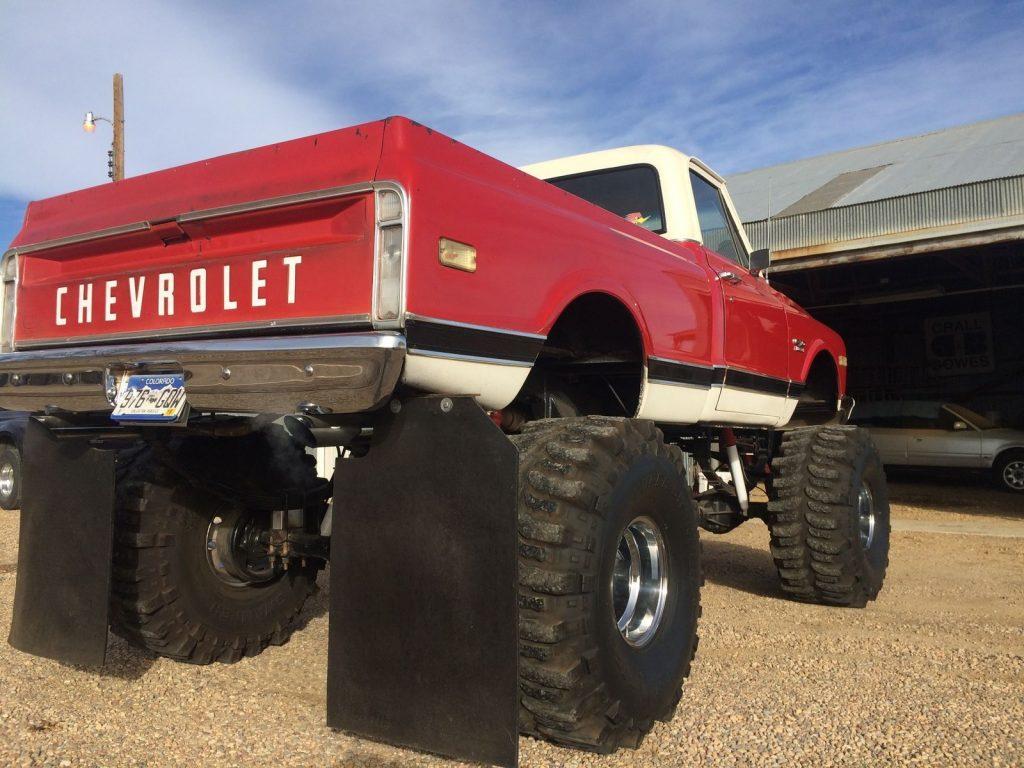 1969 Chevrolet C10 Custum build monster truck