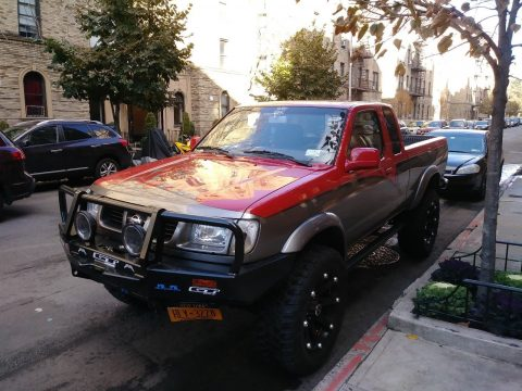 King cab 1999 Nissan Frontier monster truck for sale