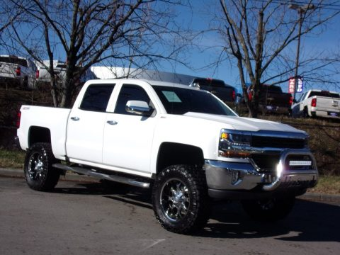 loaded 2016 Chevrolet Silverado 1500 LT monster pickup for sale
