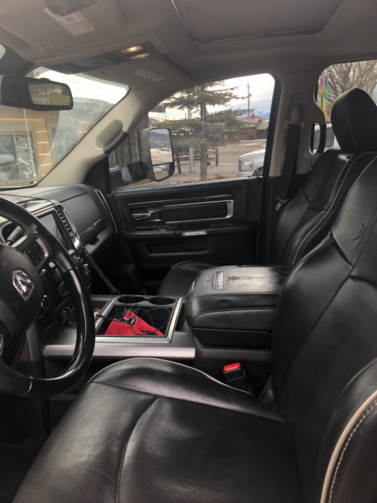 few dents 2014 Dodge Ram 2500 Longhorn Limited monster truck