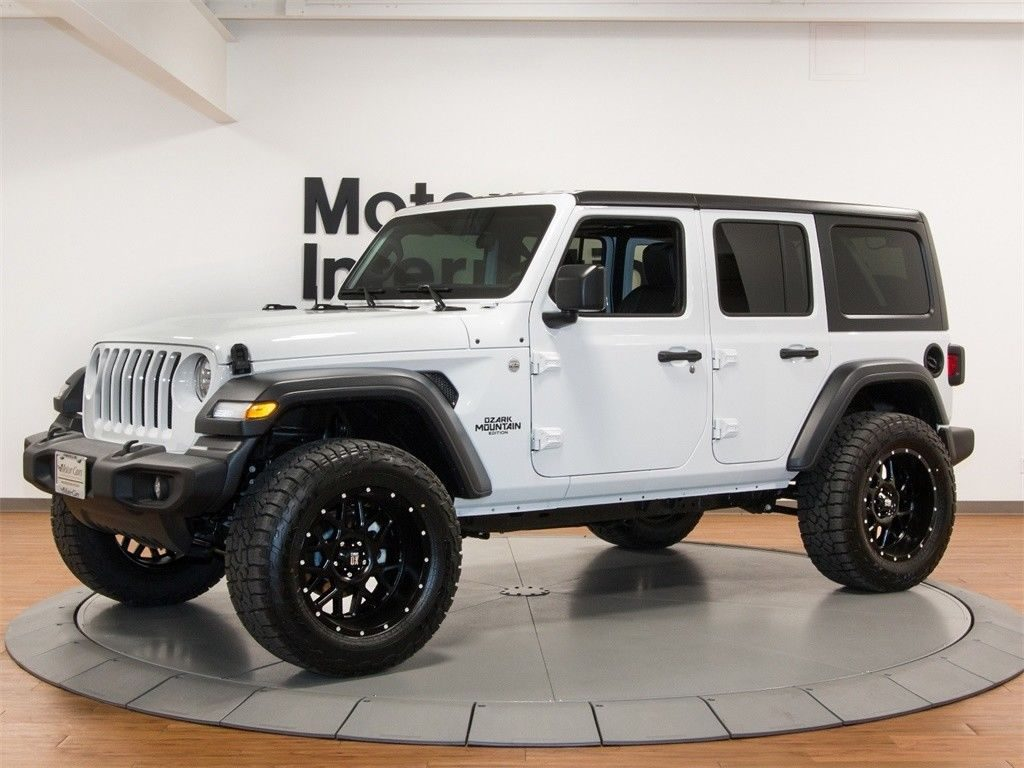 2018 Jeep Wrangler JL – Unlimited Ozark Mountain Edition