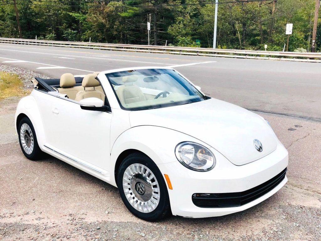 2013 Volkswagen Beetle New 2.5L Convertible