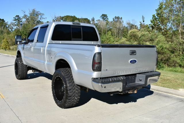 very nice 2011 Ford F 250 Lariat pickup monster