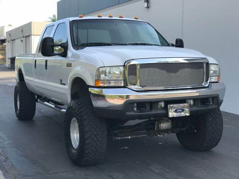 great shape 2001 Ford F 350 XLT Package monster