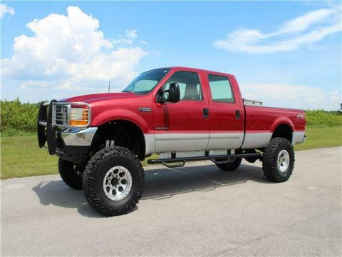 lifted 2001 Ford Super Duty F 250 XLT pickup monster for sale